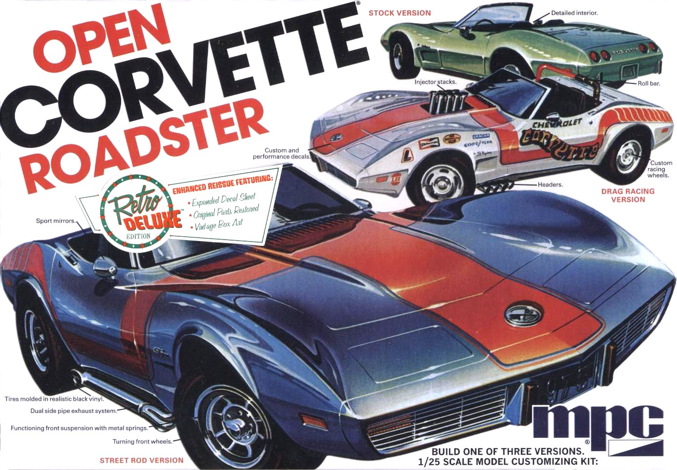 1975 Open Corvette Convertible Roadster (842)
