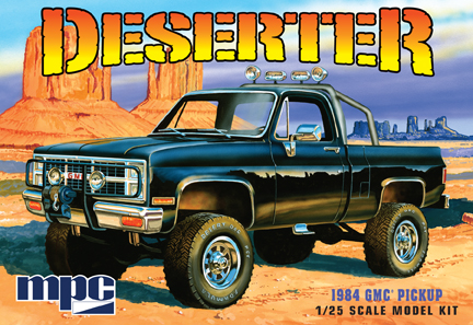 1984 GMC Pickup Deserter [White] (847)