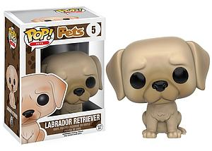 Pop! Pets Vinyl Figure Labrador Retriever #5 (Retired)