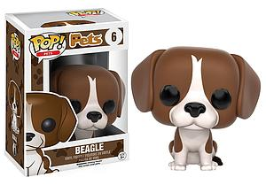 Pop! Pets Vinyl Figure Beagle #6 (Retired)