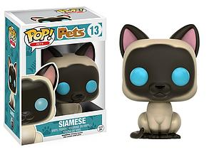 Pop! Pets Vinyl Figure Siamese Cat #13 (Vaulted)