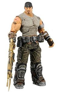 Gears of War 3 Series 3: Journey's End Marcus with Gold Retro Lancer