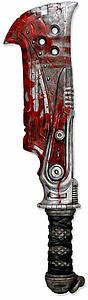 "Gears of War 3 Foam Prop Replica 34"" Butcher's Cleaver"