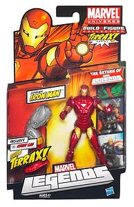 Marvel Legends Terrax Series 1: Iron Man