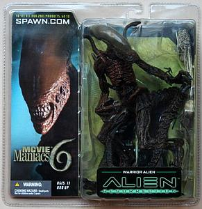 Alien Resurrection Movie Maniacs Series 6: Warrior Alien
