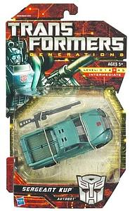 Transformers Generations Series Deluxe Class Sergeant Kup