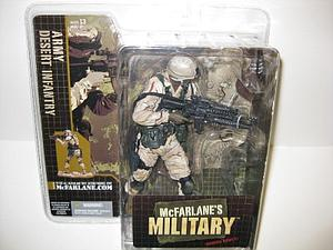 Military Series 1: Desert Infantry (African American)