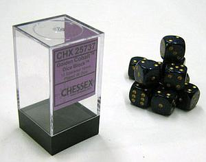 Dice 12D6 Set - Speckled Cobalt