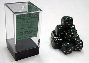 Dice 12D6 Set - Speckled Recon