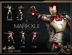 Marvel Iron Man 3 (2013) 1/6 Scale Figure Iron Man Mark XLII Power Pose (PPS 001)