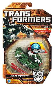 Transformers Hunt for the Decepticons Series Deluxe Class Hailstorm
