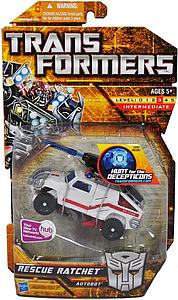 Transformers Hunt for the Decepticons Series Deluxe Class Rescue Ratchet