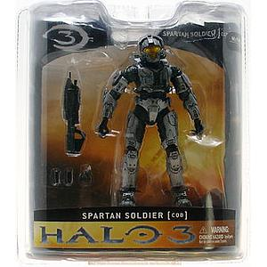 Halo 3 Series 1 Exclusive: Silver Spartan Soldier (CQB)