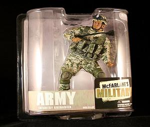 Military Series 6s: Army Infantry Grenadier (African American)