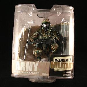 Military Series 6s: Army Infantry NBC/M.O.P.P Suit