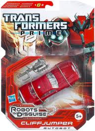 Transformers Prime Series Deluxe Class Cliffjumper