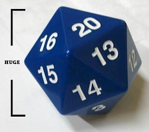 Koplow Dice Giant D20 - Blue