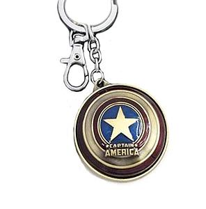 Marvel Keychain Captain America Shield (Movie Ver)