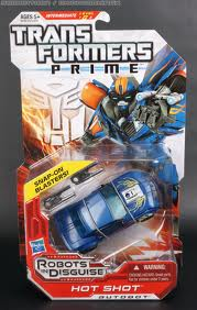 Transformers Prime Series Deluxe Class Hot Shot