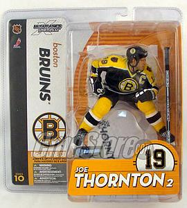 McFarlane NHL Sportspicks Series 10 Joe Thornton (Boston Bruins) Black Jersey Variant
