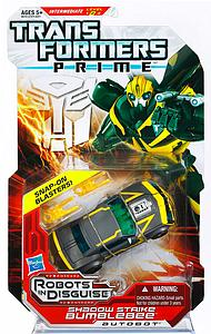 Transformers Prime Series Deluxe Class Shadow Strike Bumblebee