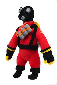 "Team Fortress 2 Deluxe 13"" Plush Figure: The Pyro"