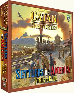 Catan: Settlers of America Trails to Rails