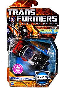 Transformers Reveal the Shield Series Deluxe Class Optimus Prime