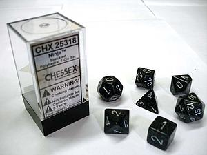 Dice 7-Piece Polyhedral Set - Speckled Ninja