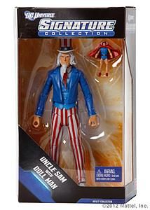 "Mattel DC Universe Signature Collection 6"": Uncle Sam & Dollman"