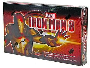 Upper Deck Marvel Iron Man 3 Hobby Cards: Box