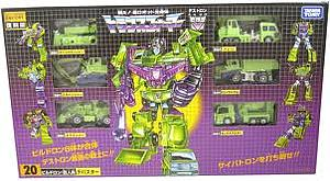 Transformers Encore Series Leader Class Devastator
