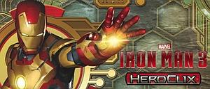 Heroclix Marvel Iron Man 3 Gravity Feed Figures: Pack