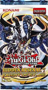 YuGiOh Trading Card Game Hidden Arsenal 7: Knight of Stars Booster Pack