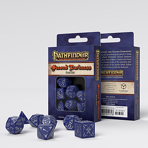 Pathfinder 7-Dice Set - Second Darkness