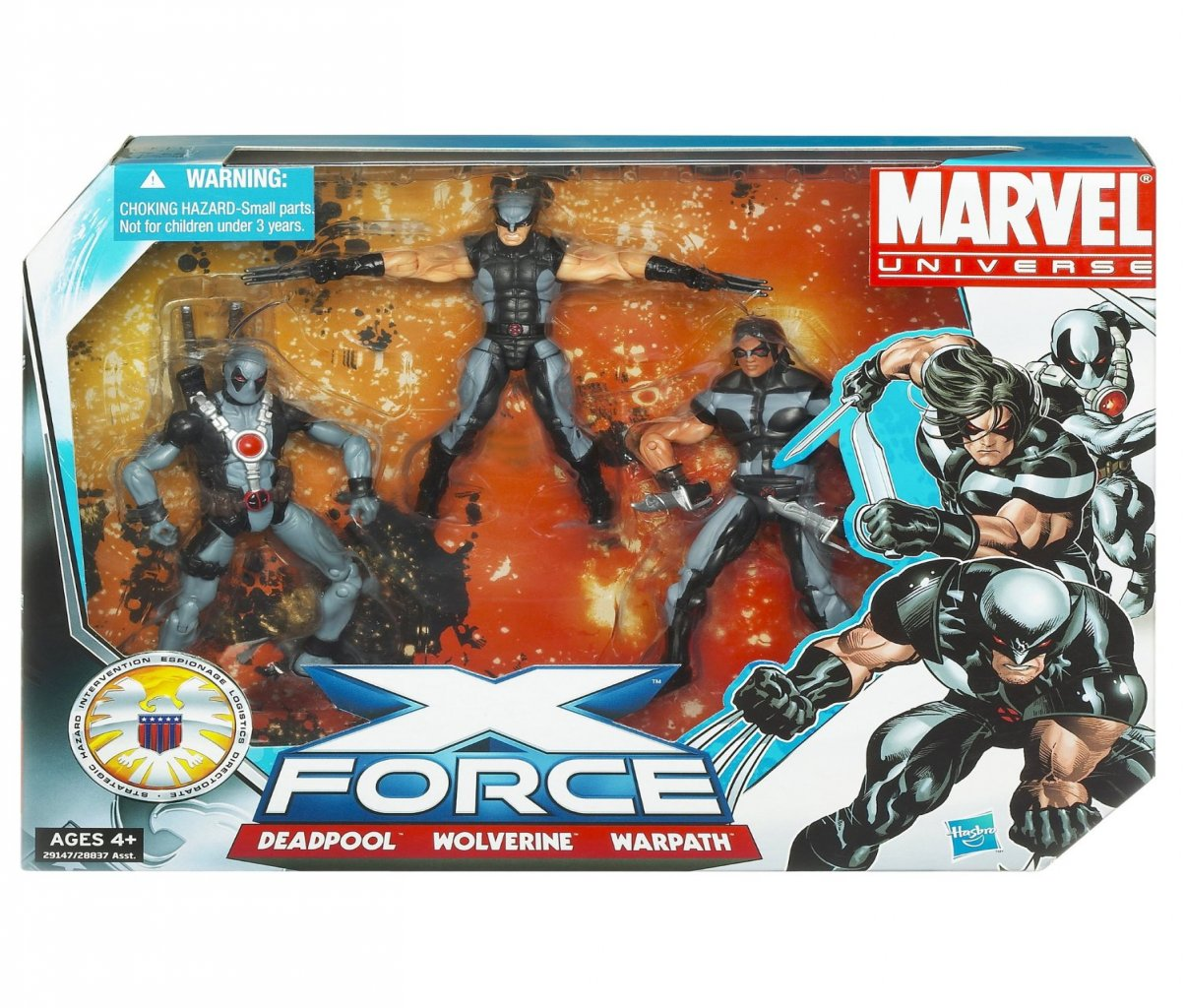 Marvel Universe Super Hero Team Pack X Force