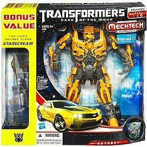 Transformers Dark of the Moon Series Leader Class Bumblebee (Includes Starscream)