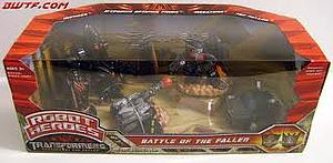 Transformers Robot Heroes Series Class Battle of the Fallen