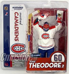 McFarlane NHL Sportspicks Series 10 Jose Theodore (Montreal Canadiens) White Jersey Variant