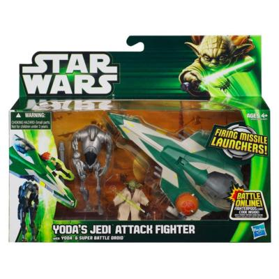 Star Wars Vehicle Yoda's Jedi Attack Fighter