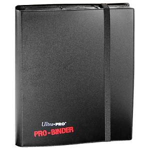 9-Pocket Pro-Binder: Black
