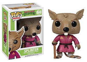 Pop! Television Teenage Mutant Ninja Turtles Vinyl Figure Splinter #64