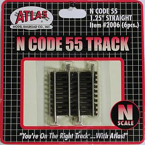 "Code 55 Track 1.25"" Straight [6 Pieces] (2006)"