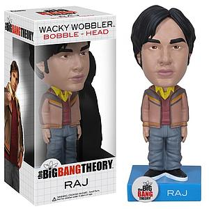 Wacky Wobblers Big Bang Theory Bobbleheads: Raj