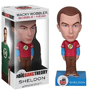 Wacky Wobblers Big Bang Theory Bobbleheads: Sheldon (The Flash)