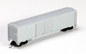 50' Double Door Box Car - Undecorated (3600)