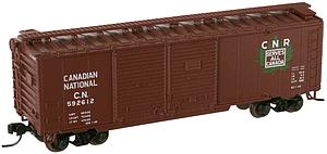 Trainman 40' Double Door Boxcar - Canadian National (38814)