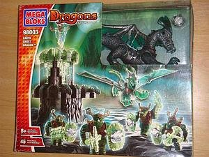 Mega Bloks Dragons Elementals: Earth Ghost Dragons (98003)
