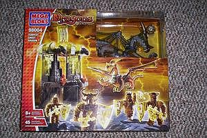 Mega Bloks Dragons Elementals: Tempest Ghost Dragons (98004)