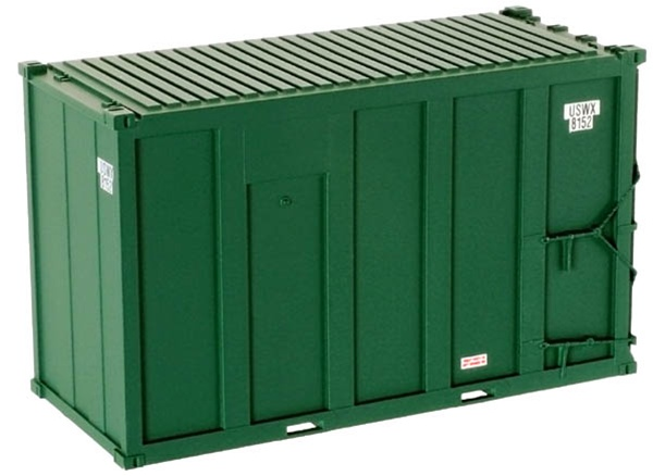 20' Hi-Cube MSW Trash Container - USWX Set (20001198)